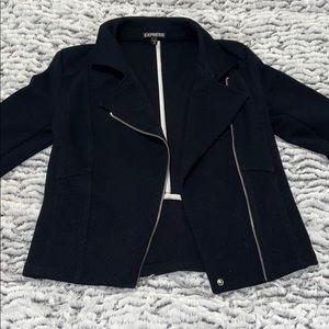 Express zip up dressy jacket